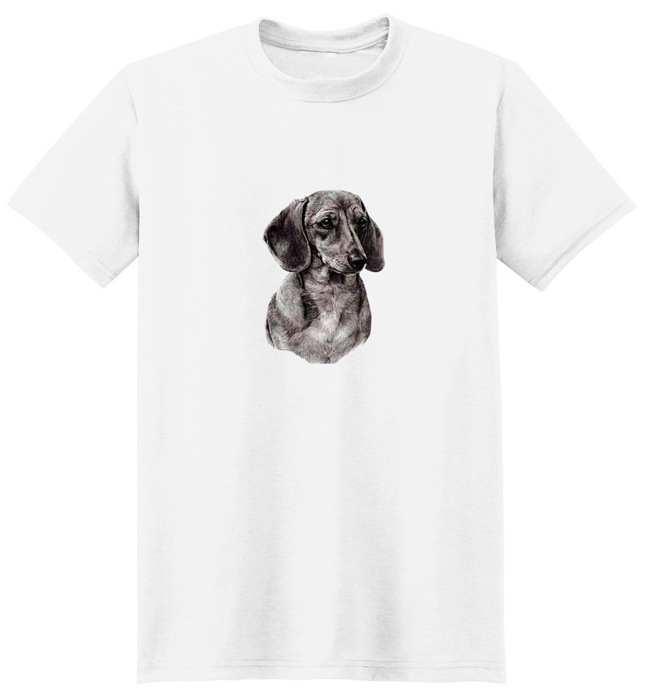 Dachshund T-Shirt - Eye Catching Detail