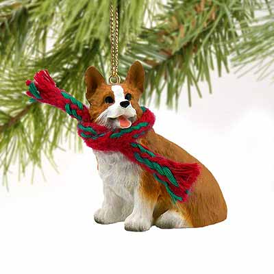 Corgi Tiny One Christmas Ornament Pembroke