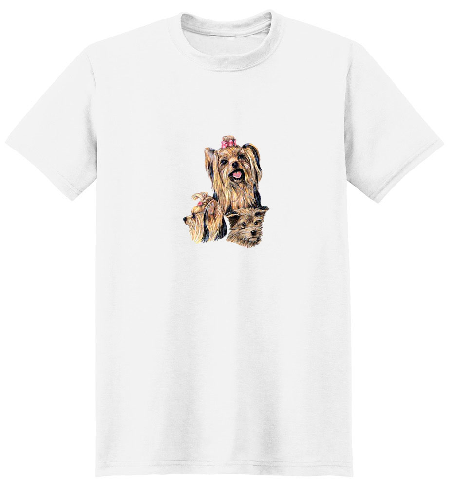 Yorkshire Terrier T-Shirt - Best Friends