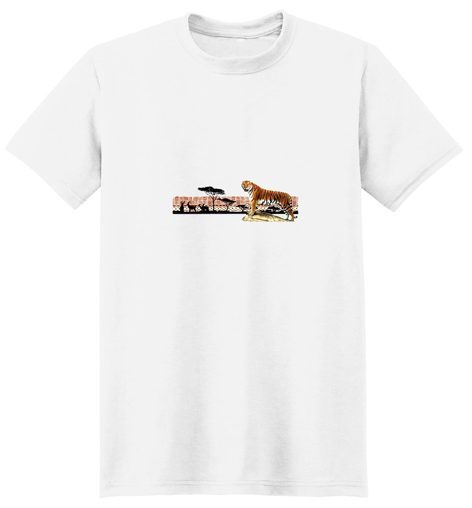 Tiger T-Shirt - Scenic