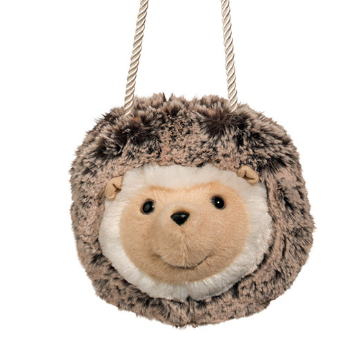 Hedgehog Plush Stuffed Animal Purse