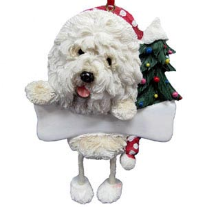 Old English Sheepdog Christmas Tree Ornament - Personalize