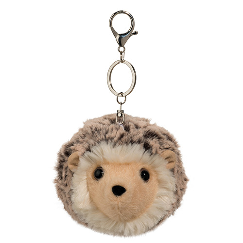 Hedgehog Plush Stuffed Animal Pom Clip 4