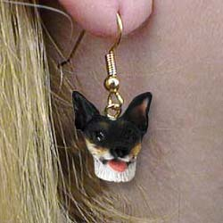Rat Terrier Authentic Earrings