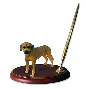 Rhodesian Ridgeback Pen Holder
