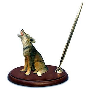 Coyote Pen Holder