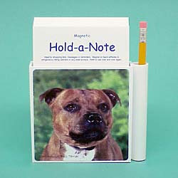 Staffordshire Bull Terrier Hold-a-Note