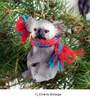 Koala Tiny One Christmas Ornament
