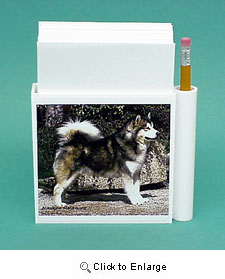 Alaskan Malamute Hold-a-Note