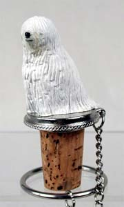 Komondor Bottle Stopper
