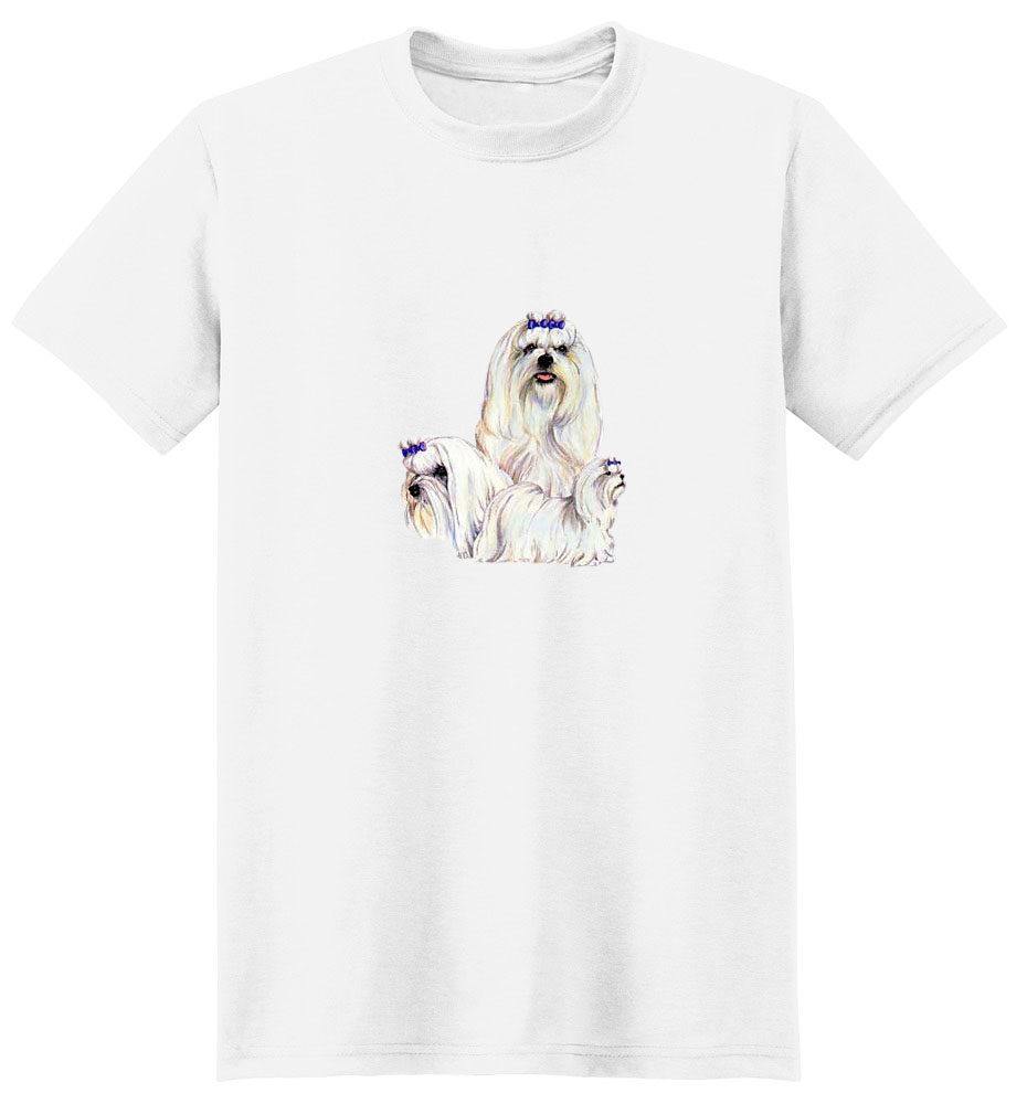 Maltese T-Shirt - Best Friends