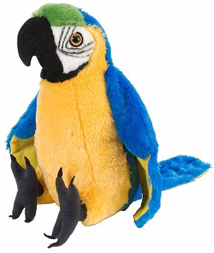 Macaw Parrot Plush Stuffed Animal 12