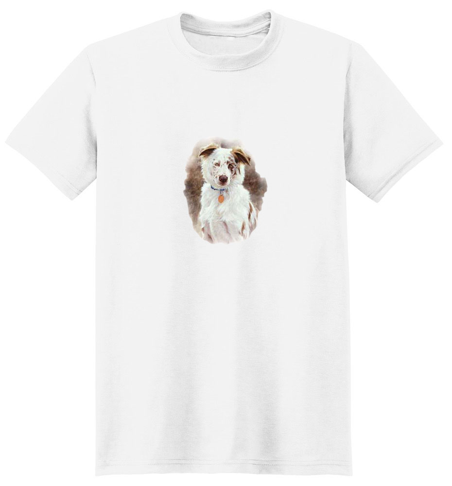 Australian Shepherd T-Shirt - Pictured