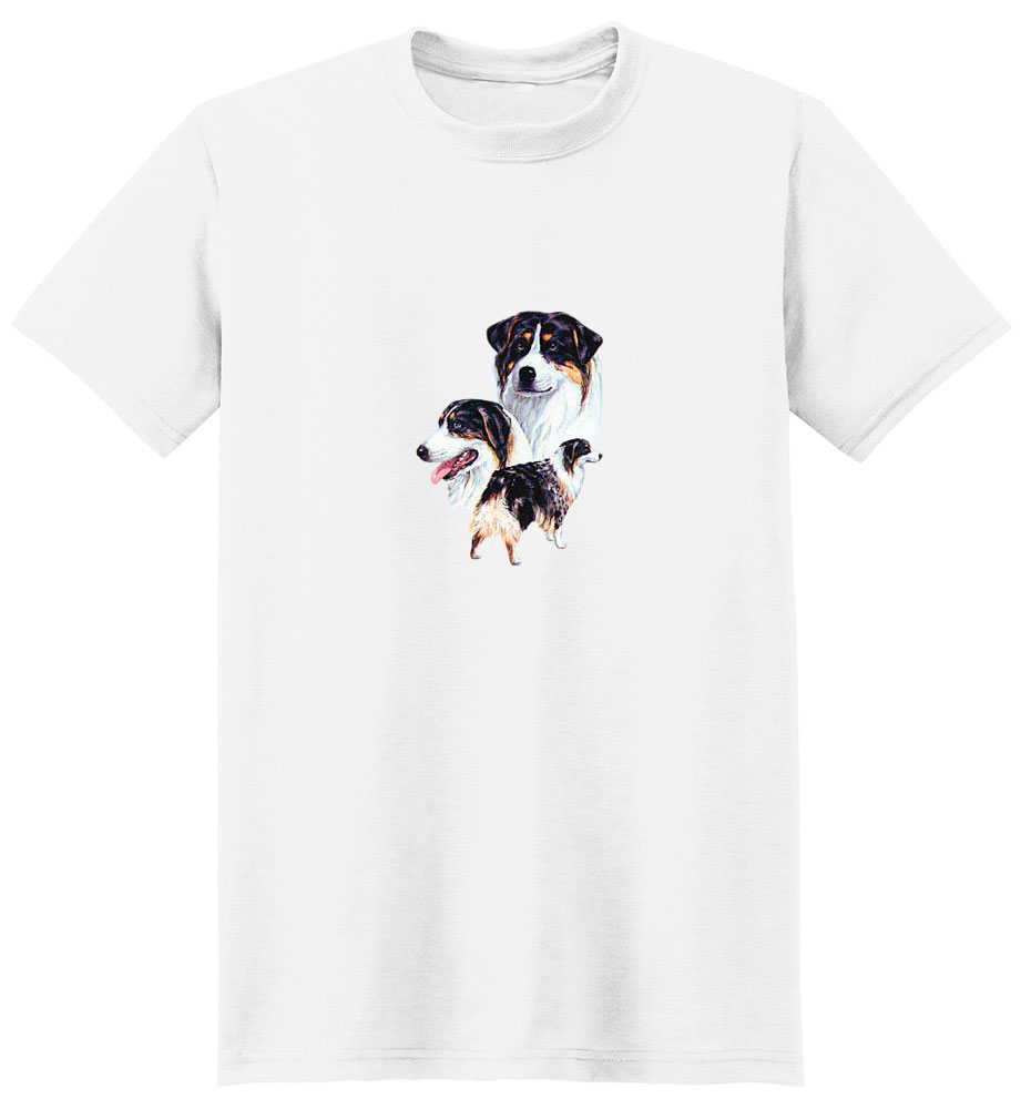 Australian Shepherd T-Shirt - Best Friends