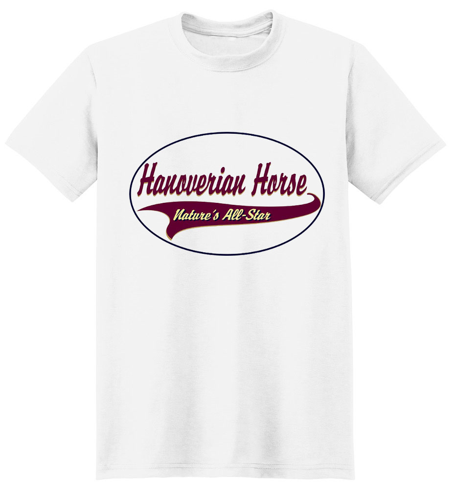 Hanoverian Horse T-Shirt - Breed of Champions