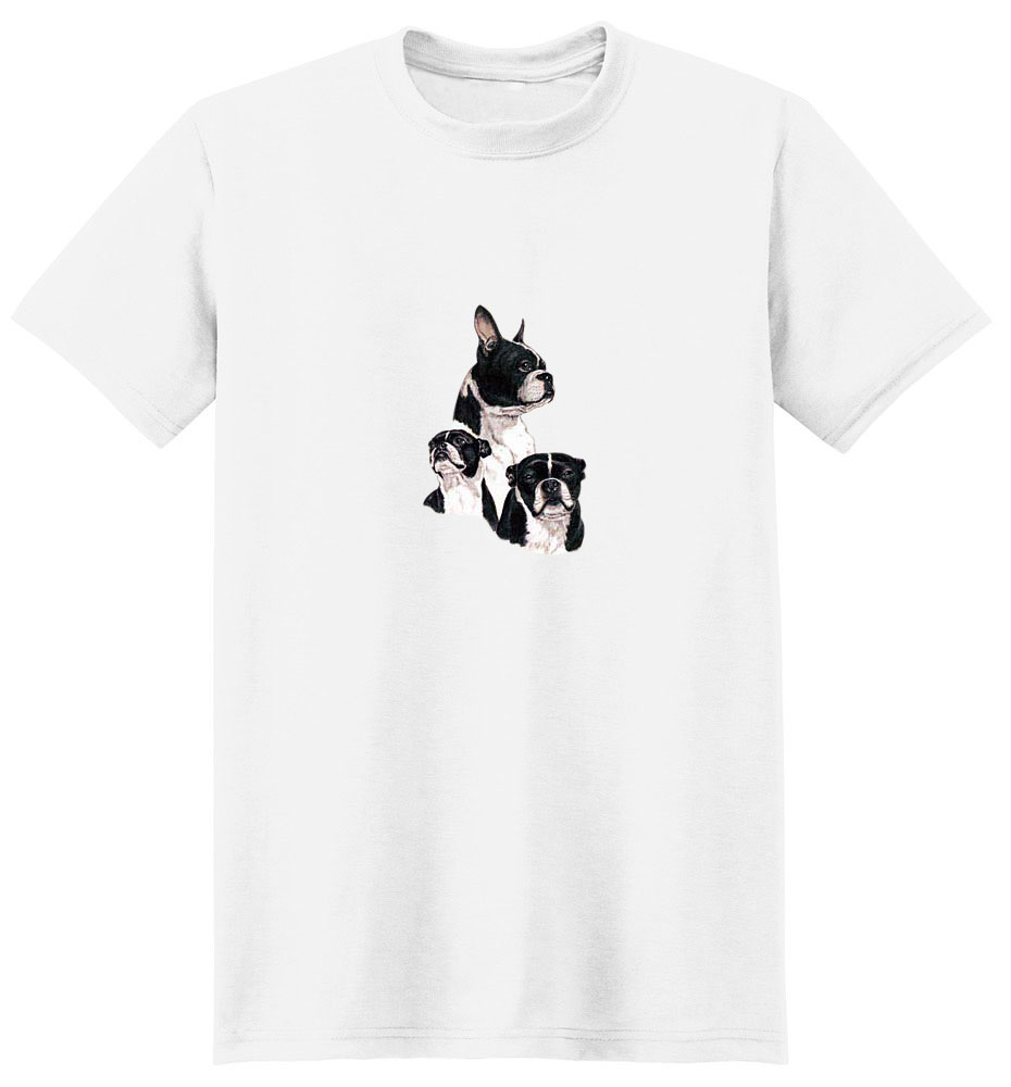 Boston Terrier T-Shirt - Best Friends