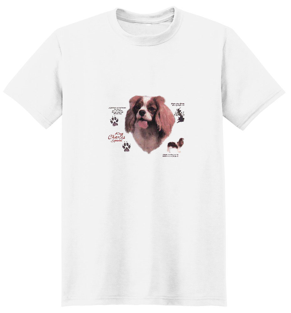 Cavalier King Charles Spaniel T-Shirt - History Collection
