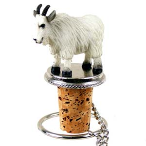Mountain Goat Bottle Stopper