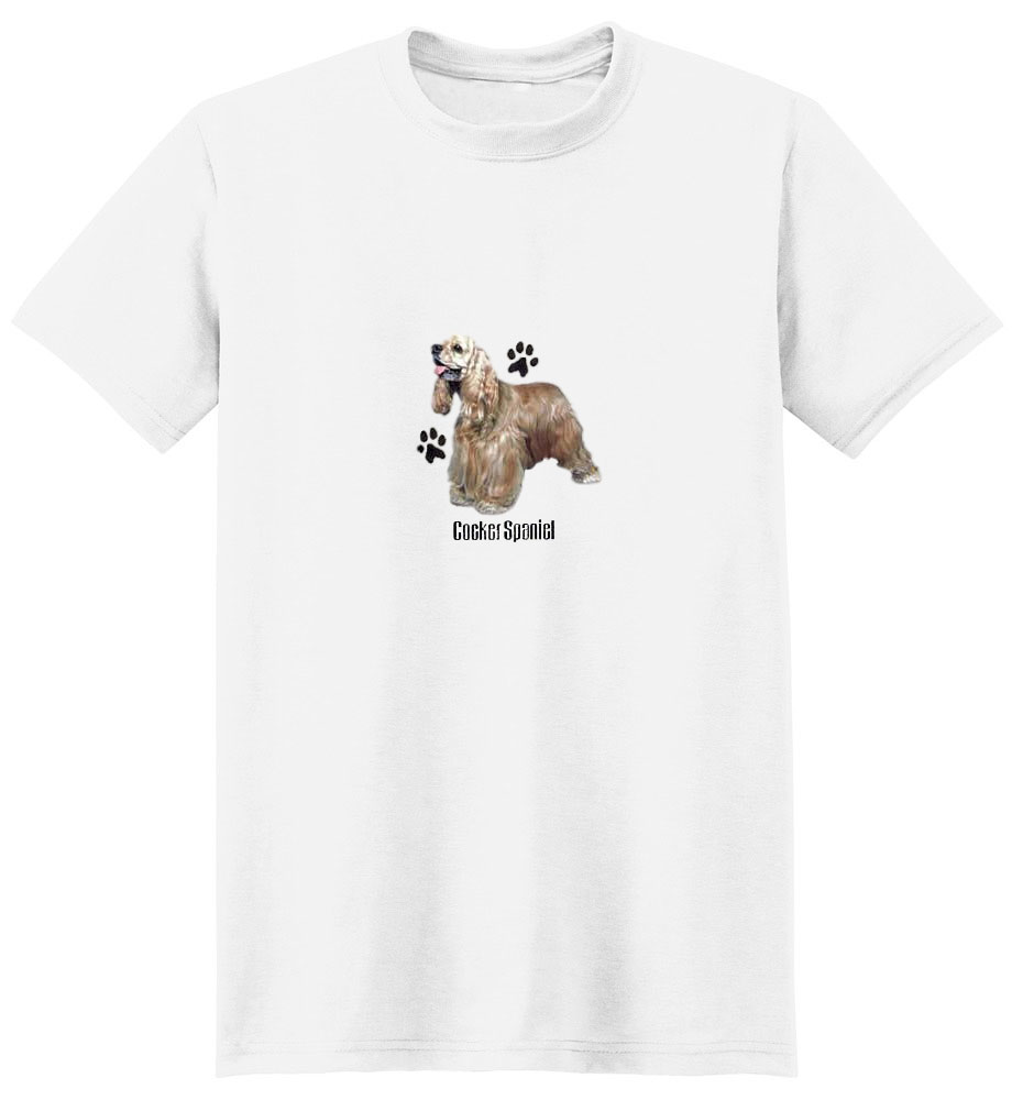 Cocker Spaniel T-Shirt - Profiles