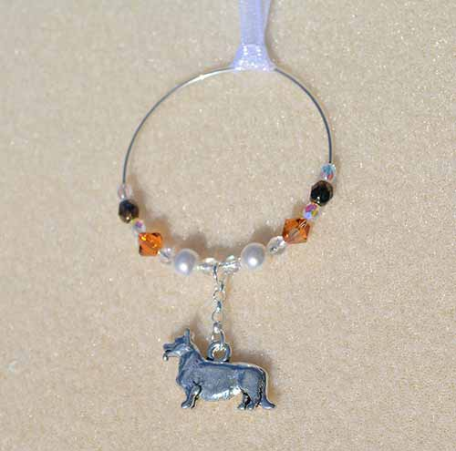 Corgi Car Charm - Sun Catcher