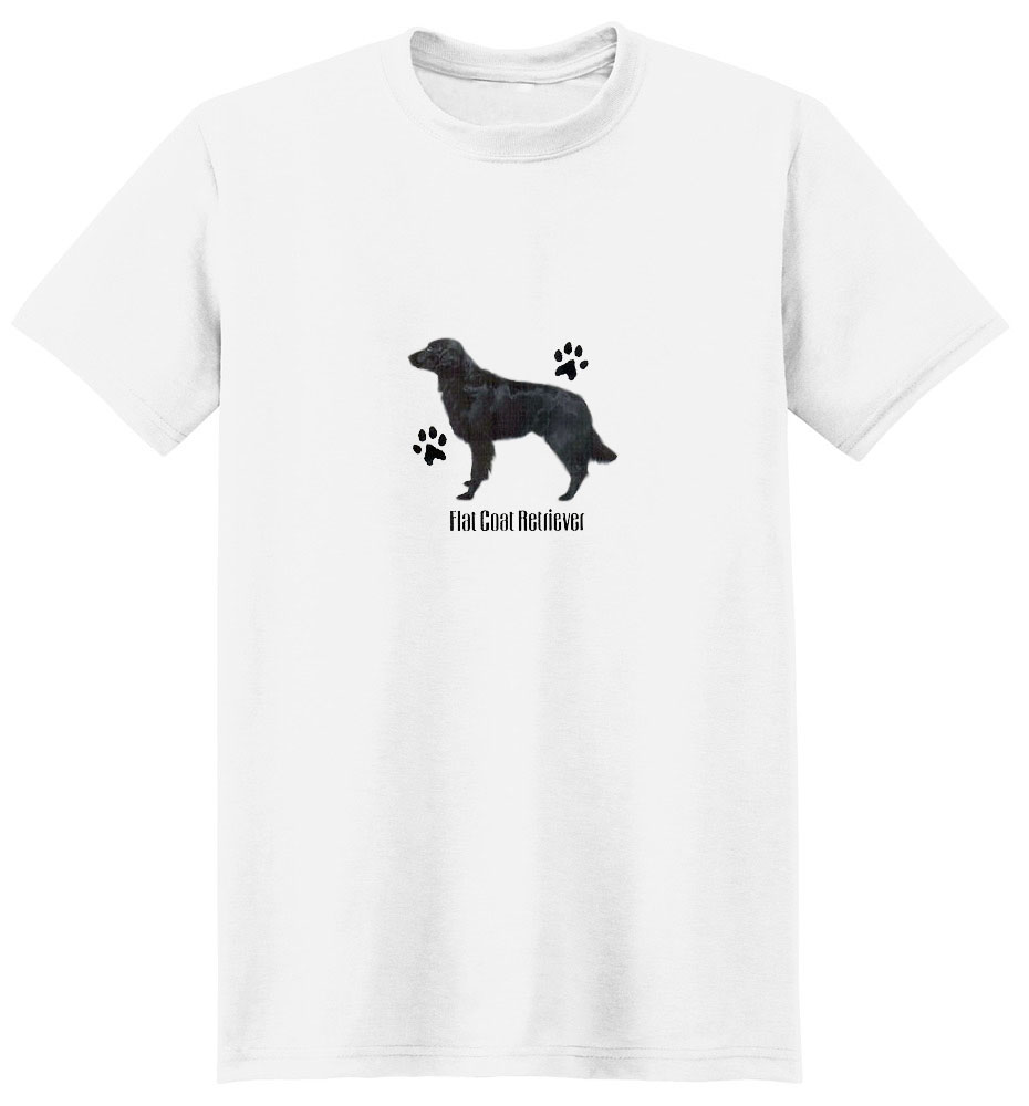 Flat-Coated Retriever T-Shirt - Profiles