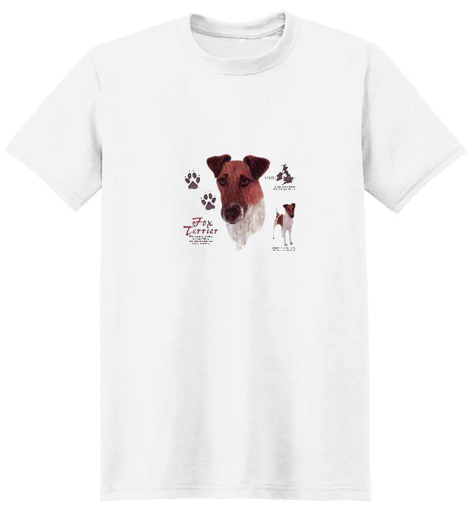 Smooth Fox Terrier T-Shirt - History Collection