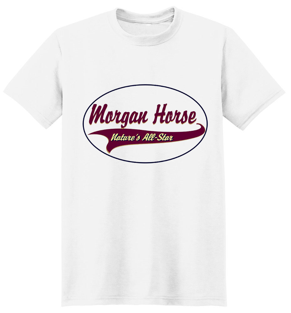 Morgan Horse T-Shirt - Breed of Champions