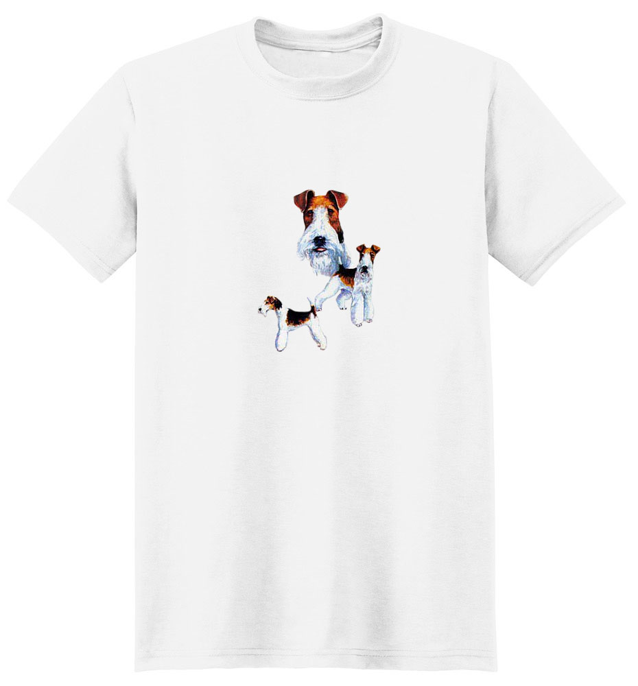 Wire Fox Terrier T-Shirt - Best Friends