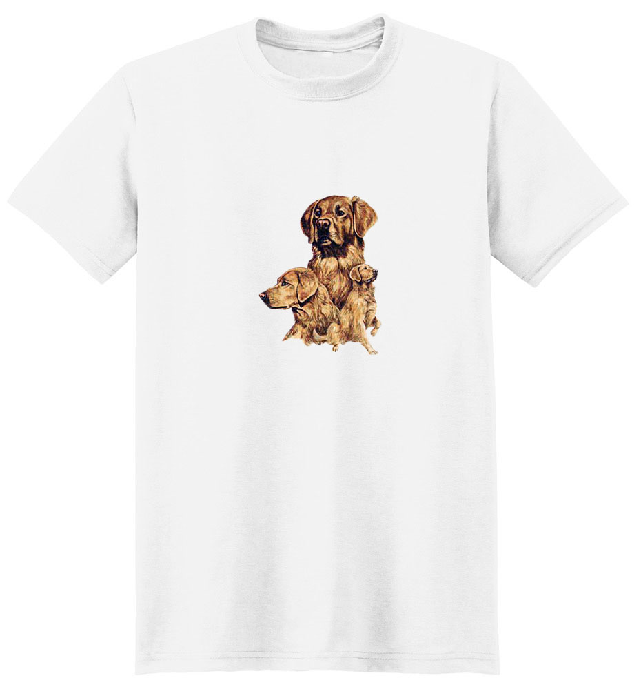 Golden Retriever T-Shirt - Best Friends