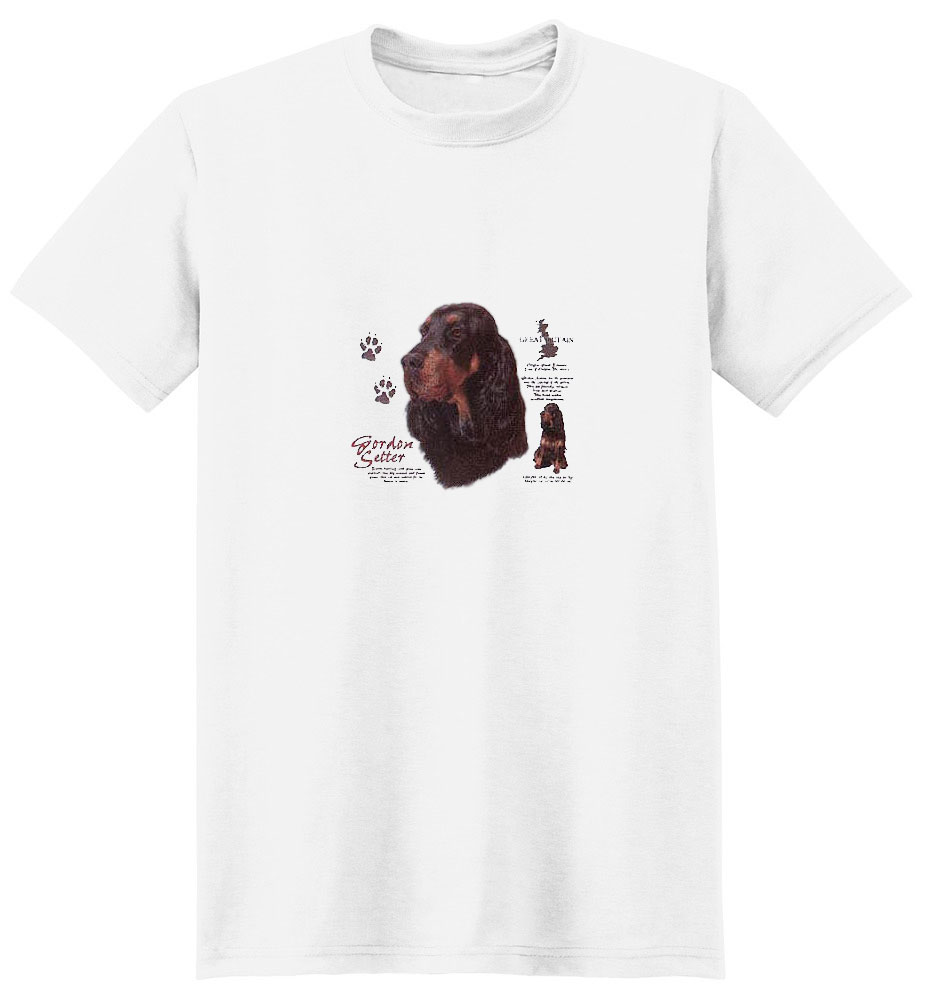 Gordon Setter T-Shirt - History Collection