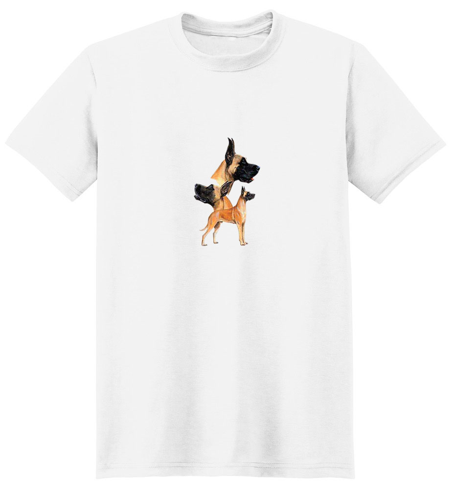 Great Dane T-Shirt - Best Friends