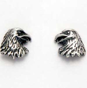 Eagle Earrings Sterling Silver