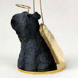 Kerry Blue Terrier Christmas Ornament Angel