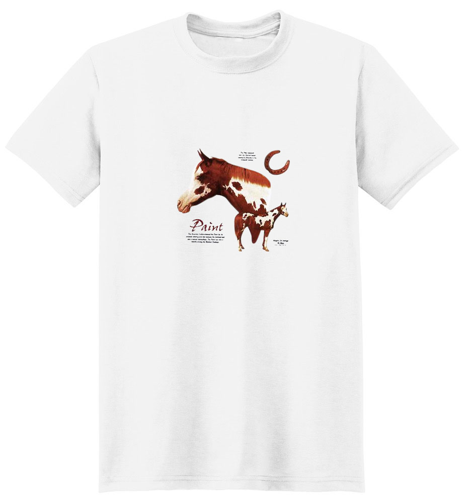 Paint Horse T-Shirt - Facts