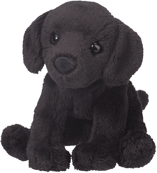Lucy Black Labrador 5� Stuffed Plush Animal