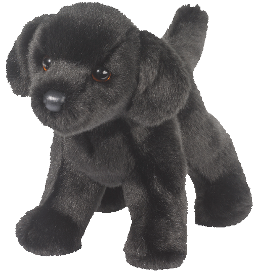 Black Labrador 10� Stuffed Plush Animal