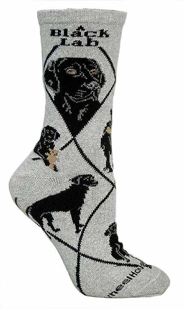 Black Lab Socks