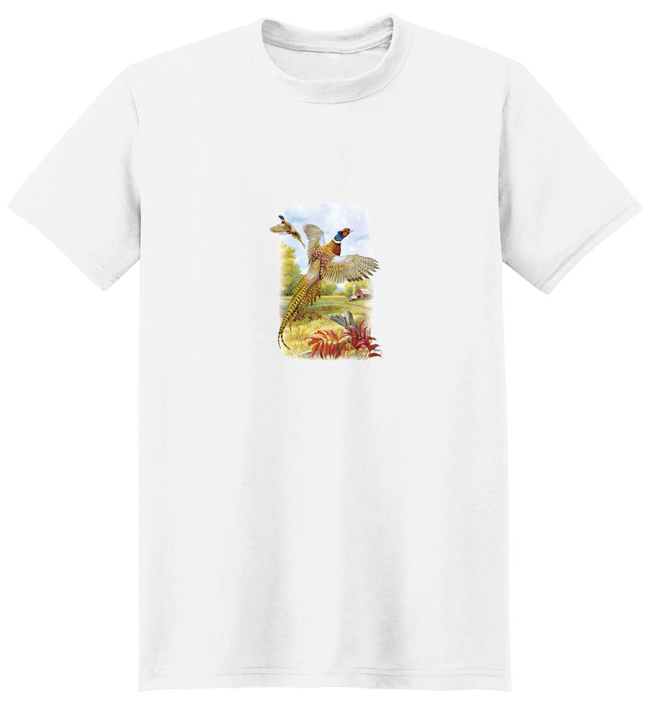 Pheasant T-Shirt - Brightly Colored
