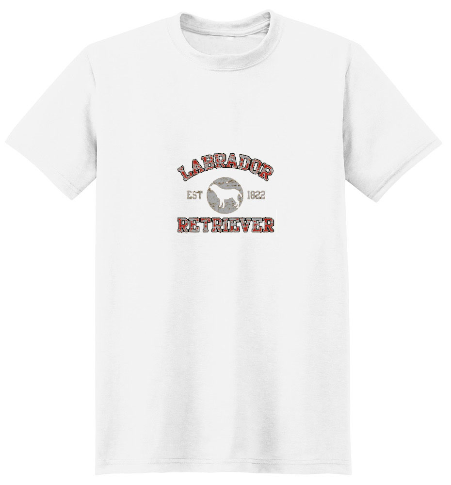 Labrador Retriever Black Shirt Est. 1822