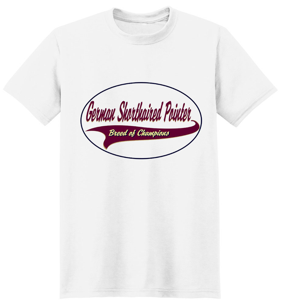 German Shorthaired Pointer T-Shirt - Breed of Champions