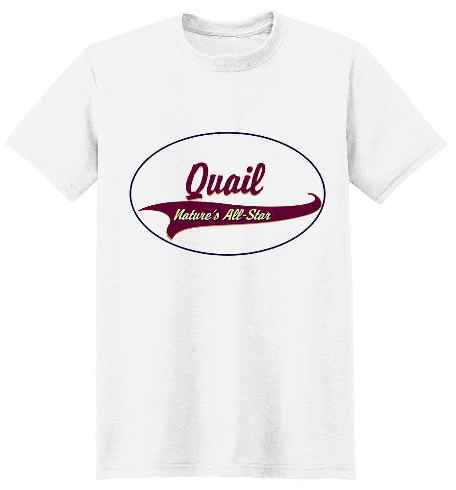 Quail T-Shirt - Breed of Champions