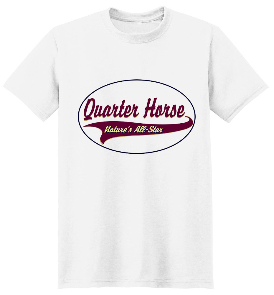 Quarter Horse T-Shirt - Breed of Champions