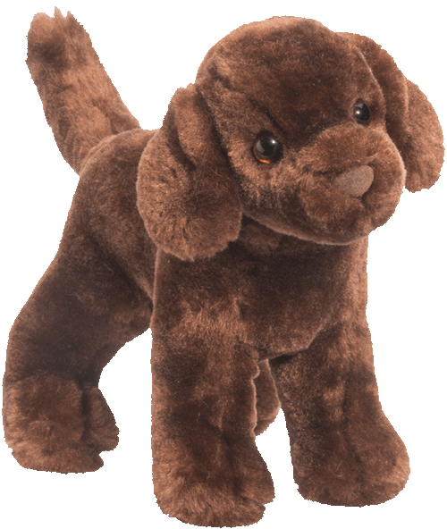 Sylvia Chocolate Labrador 8� Stuffed Plush Animal