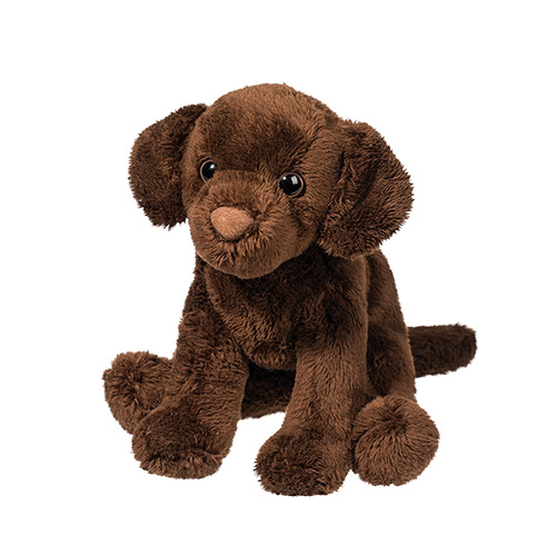 Chocolate Lab Plush Stuffed Animal