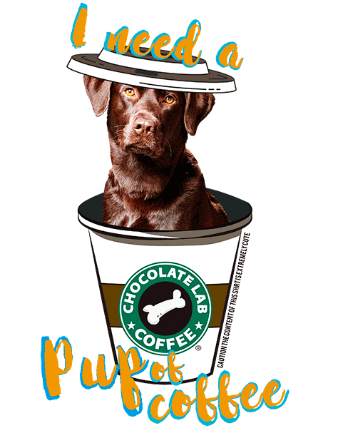 Chocolate Lab T Shirt - Coffee Mug