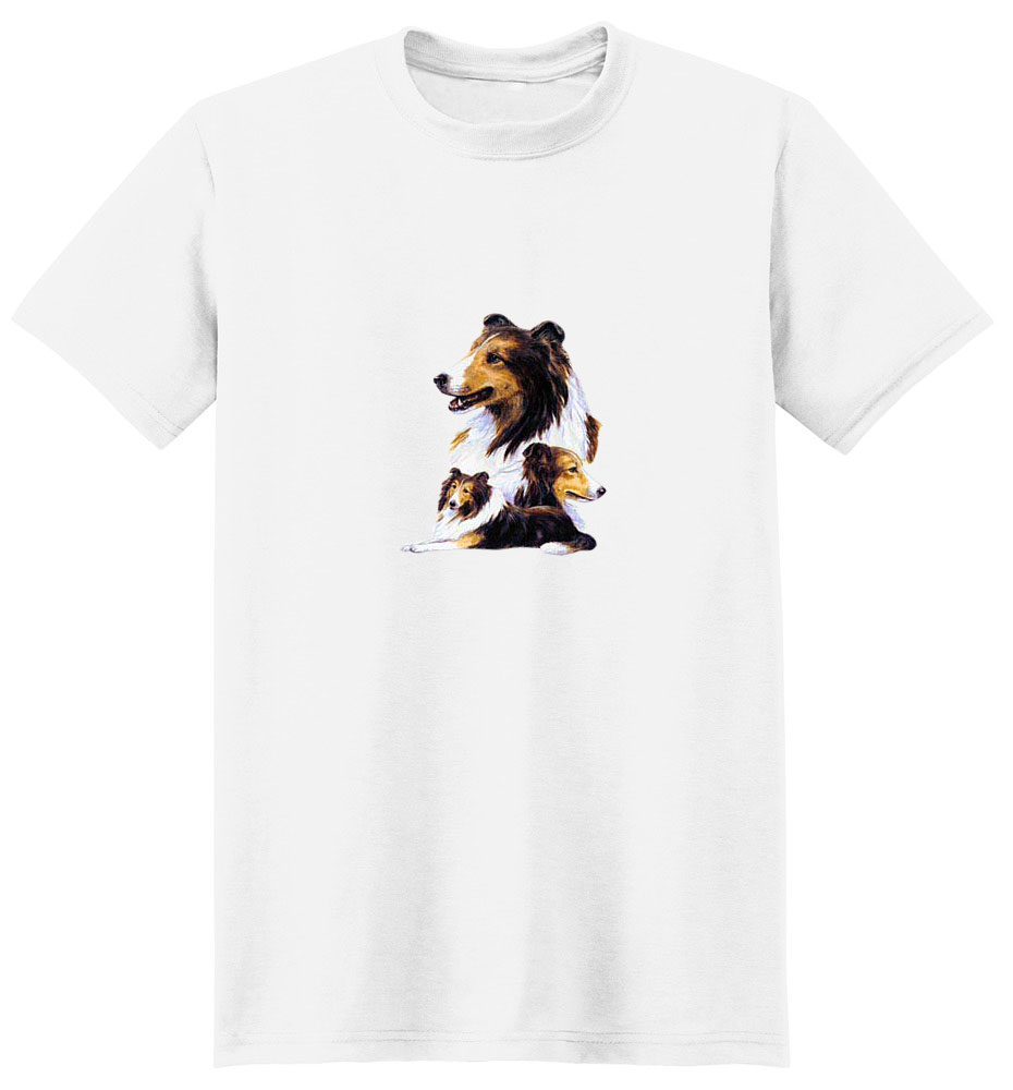 Shetland Sheepdog T-Shirt - Best Friends