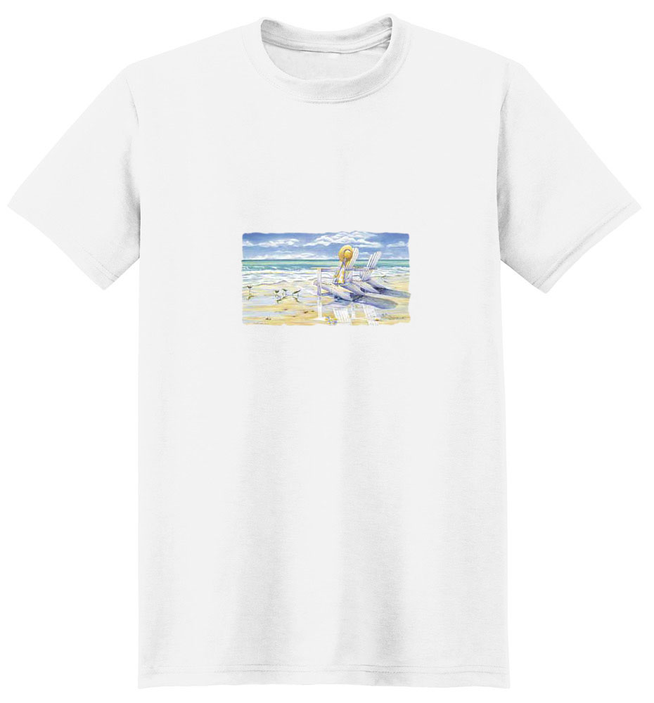 Sandpiper T-Shirt - Colorfully Illustrated