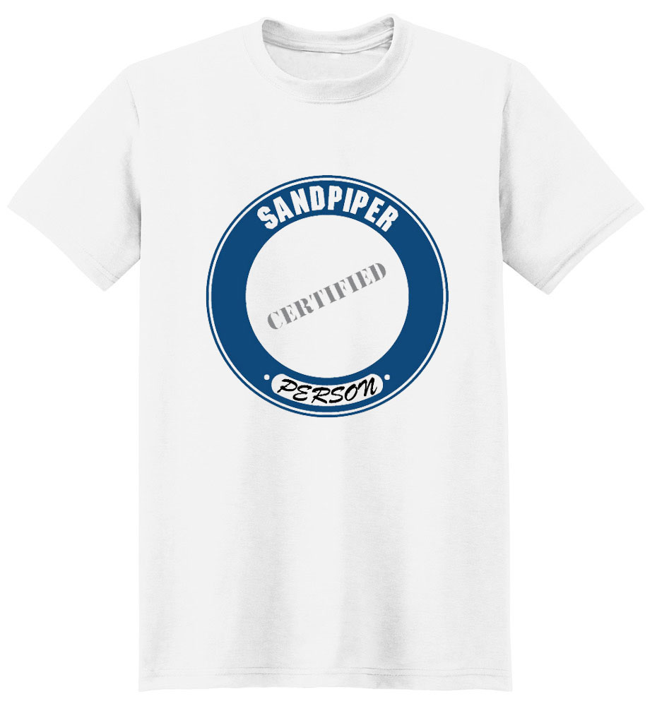 Sandpiper T-Shirt - Certified Person