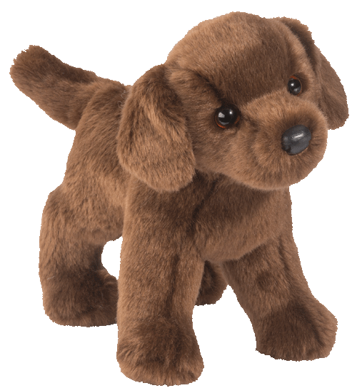 Tucker Chocolate Labrador 10� Stuffed Plush Animal
