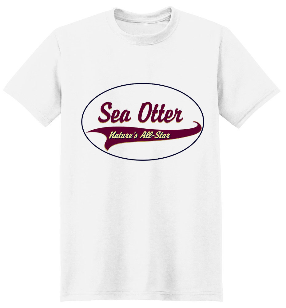 Sea Otter T-Shirt - Breed of Champions